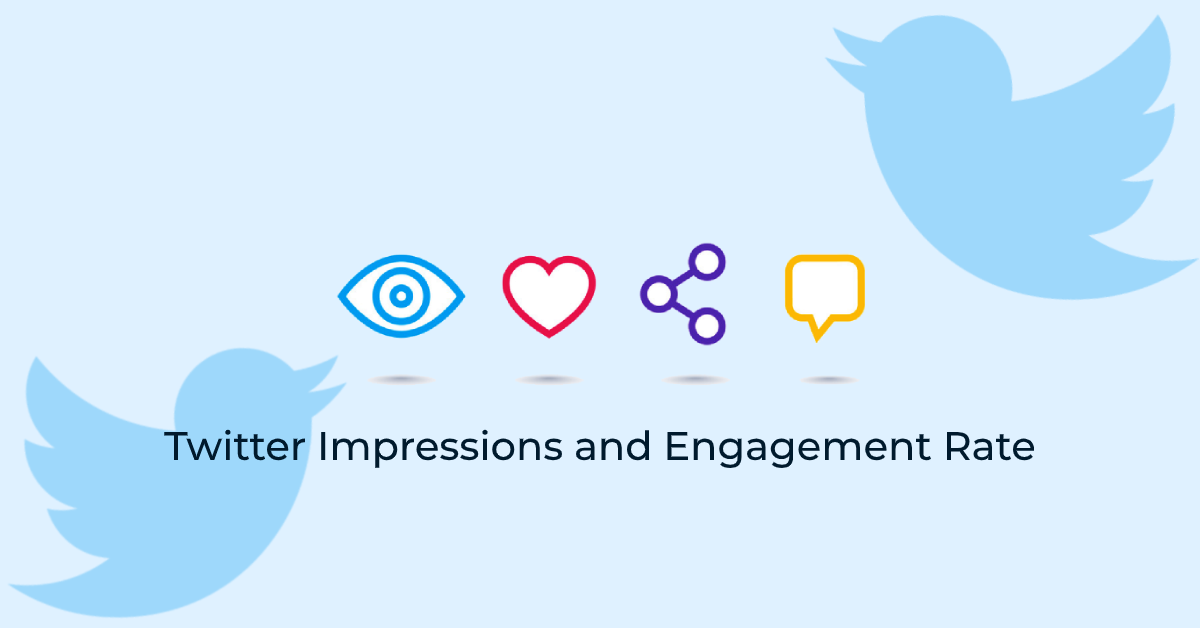Twitter impressions & engagement interaction - followedaap as social media marketing
