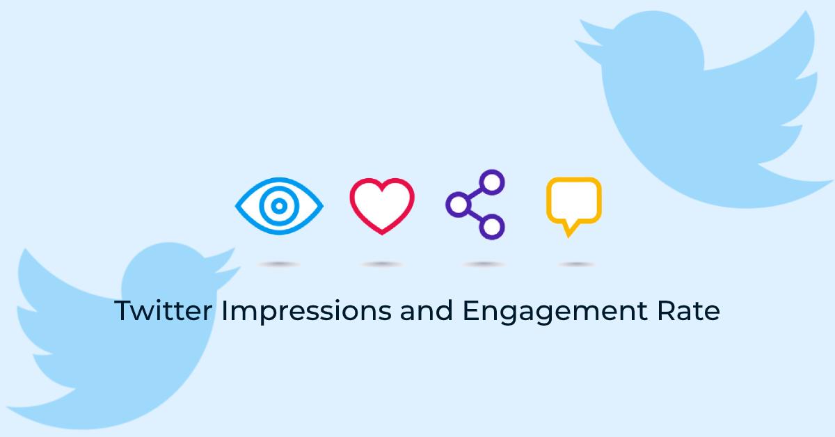 Twitter impressions & engagement interaction - followedaap as social media marketing