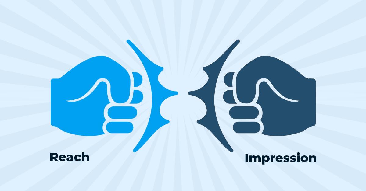 Twitter impressions vs reach - followedap-social media marketing blog