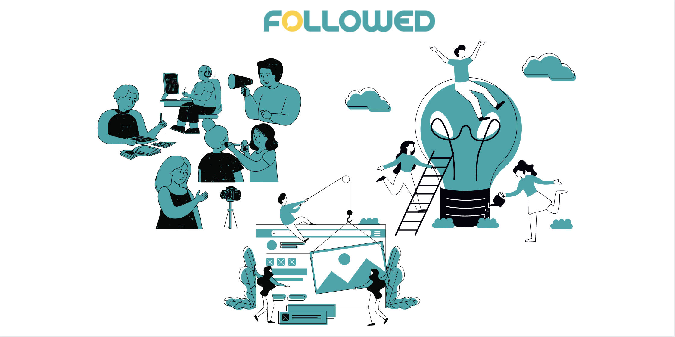 Engage with your audience to become influencer by followedapp blog post