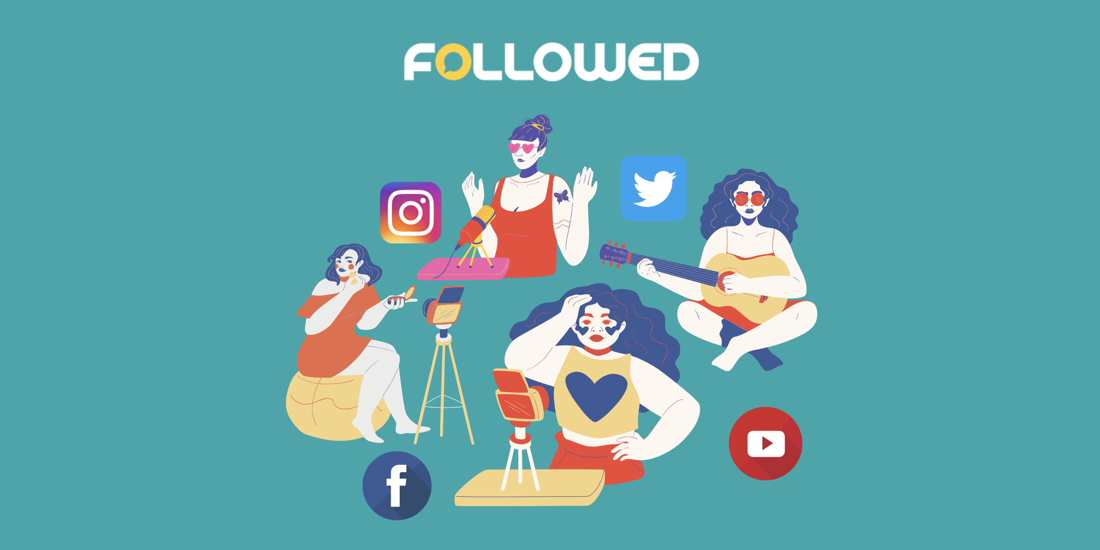 how to become instagram influencer by followedapp blog post